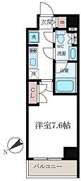 クレストコートTS吾妻橋[4階]の間取り
