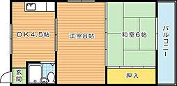 八千代葉山ビル[2階]の間取り