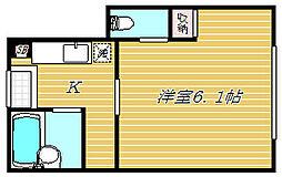 FERIO平井パークサイド[1階]の間取り