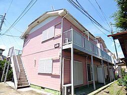 埼玉県越谷市神明町1の賃貸アパートの外観