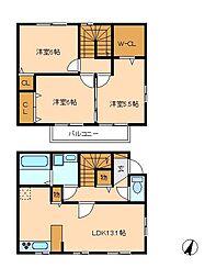 ウィットYAMAKA[1階]の間取り