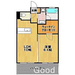 パークサイド スクエア II[3階]の間取り