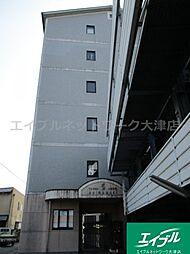 滋賀県大津市竜が丘の賃貸マンションの外観