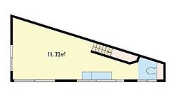 貸アパート[2階号室]の間取り