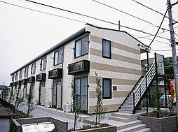 東京都昭島市上川原町2丁目の賃貸アパートの外観
