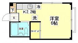 フラワーメゾン[2階]の間取り