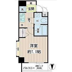 アーバン・スクエア川崎平間[5階]の間取り