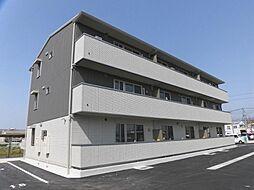 長崎県大村市富の原1丁目の賃貸アパートの外観