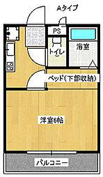 Fumin[4階]の間取り