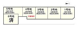 土地(松塚駅から徒歩11分、130.04m²、570万円)