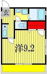 コトー谷津[1階]の間取り