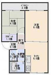 藤井ビル8[2階]の間取り