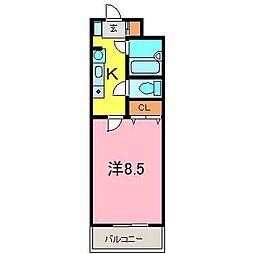 LeggeroII[2階]の間取り