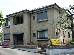 東京都日野市日野台5丁目の賃貸アパートの外観