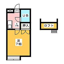 ニッシンハイツ笠寺[1階]の間取り