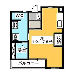 COURT M&M III・IV[1階]の間取り