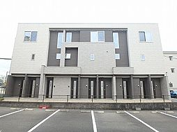 広島県広島市安佐南区長束4丁目の賃貸アパートの外観