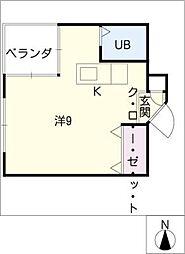 A2ビル[3階]の間取り