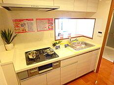 システムキッチン完備しております。