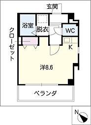 籠田レジデンス[9階]の間取り