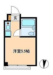 リバーシティ松戸[3階]の間取り