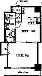プロビデンス葵タワー[502号室]の間取り