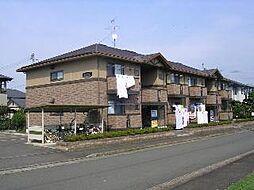 岩手県紫波郡矢巾町大字高田第13地割の賃貸アパートの外観