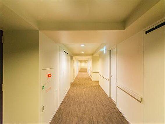 内廊下設計の共...