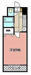 KMマンション八幡駅前II[809号室]の間取り