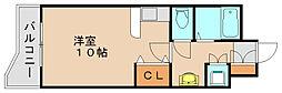 パークコート箱崎イースト[4階]の間取り
