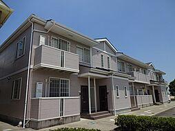 徳島県板野郡藍住町奥野字猪熊の賃貸アパートの外観