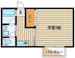 パークハイツ石神井台[2階]の間取り