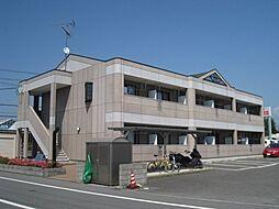 滋賀県東近江市林田町の賃貸アパートの外観