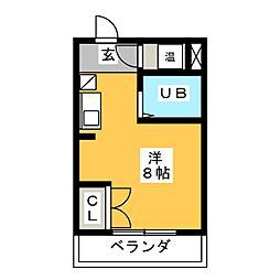 メゾンミエール[5階]の間取り