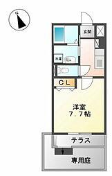 EXCEL TOYOO[1階]の間取り
