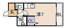 ジョイアスライフ[6階]の間取り
