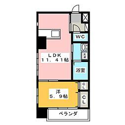 EXE ITAYAMACHI[2階]の間取り