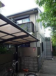 京都府京都市左京区吉田本町の賃貸アパートの外観