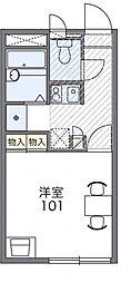 瑞江[1階]の間取り