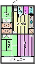 第3静和荘[101号室]の間取り
