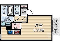 大阪府茨木市春日4丁目の賃貸アパートの間取り