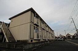 コスモハイツ田中D[1階]の外観