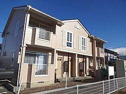 長野県松本市小屋北2丁目の賃貸アパートの外観