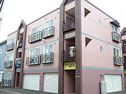 北海道札幌市豊平区月寒東二条18丁目の賃貸マンションの外観