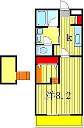 ニューウィンベル[2階]の間取り