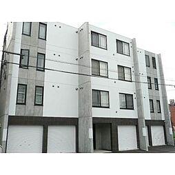 北海道札幌市北区北二十八条西3丁目の賃貸マンションの外観