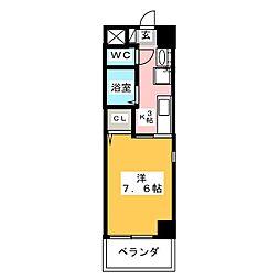 ヴァレア八事[4階]の間取り