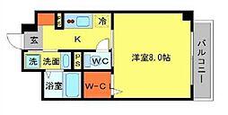 石塚アネックス[1階]の間取り