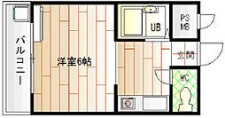 春日町西田マンション[1階]の間取り