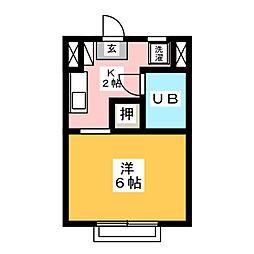 丸和マンション[5階]の間取り